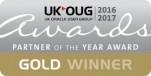 UKOUG Gold Award 2016/17